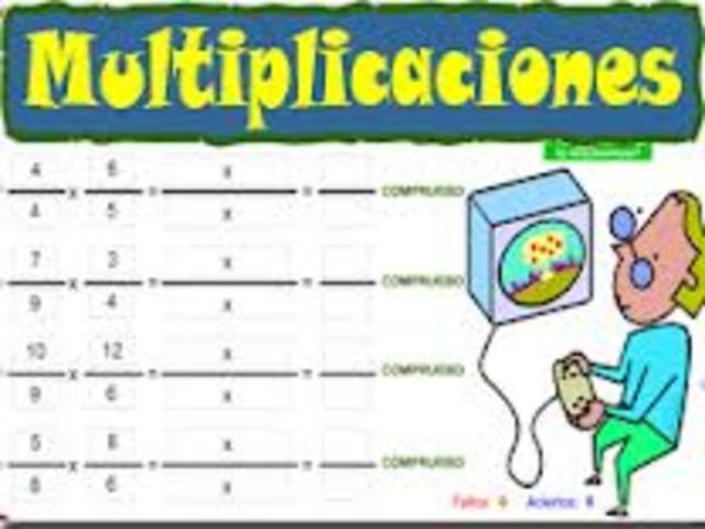 Multiplicar fracciónes y decimales