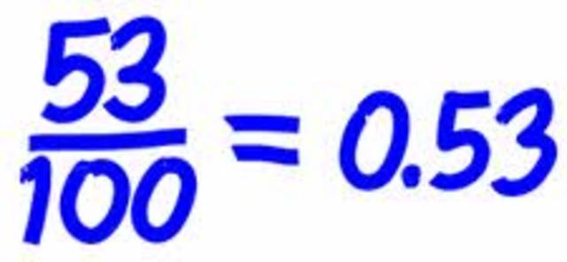 De decimales a fracciones