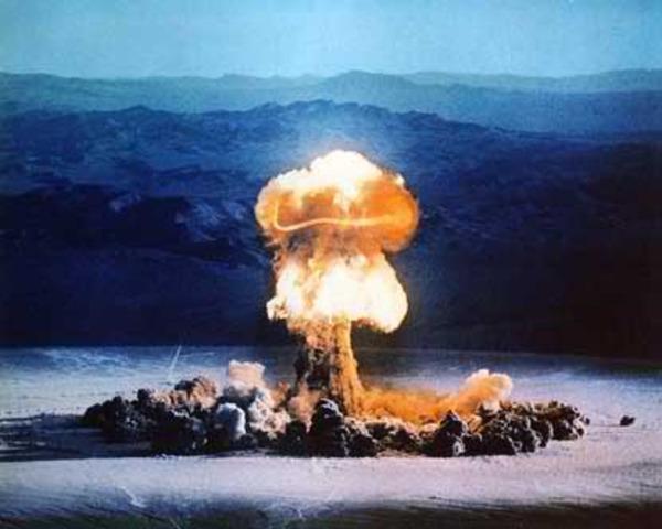 France Tests A-Bomb