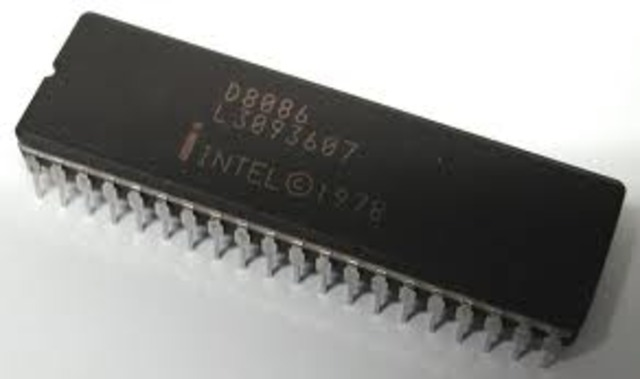 procesador intel 8086