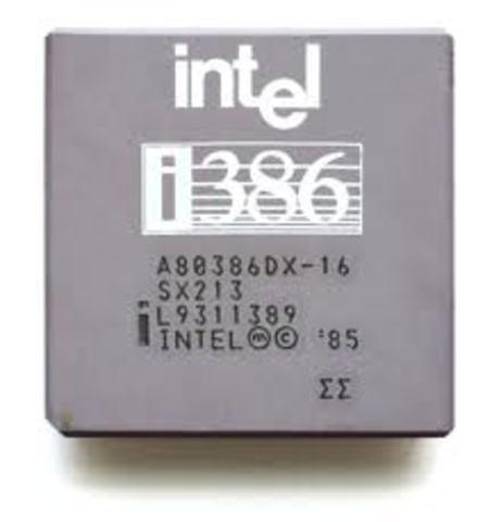 Procesador intel 386
