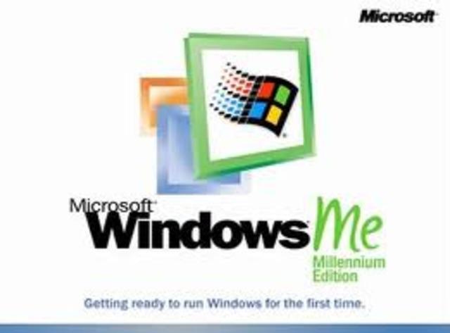 Recibí mi primer curso de computacion en windows milenium