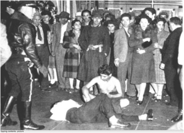 Zoot Suit Riots – Los Angeles, CA