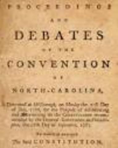 Constitutional Convention ends