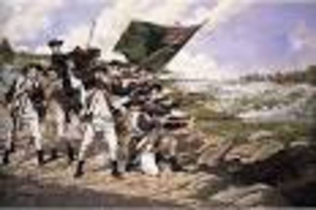 British victory at the Battle of Long Island