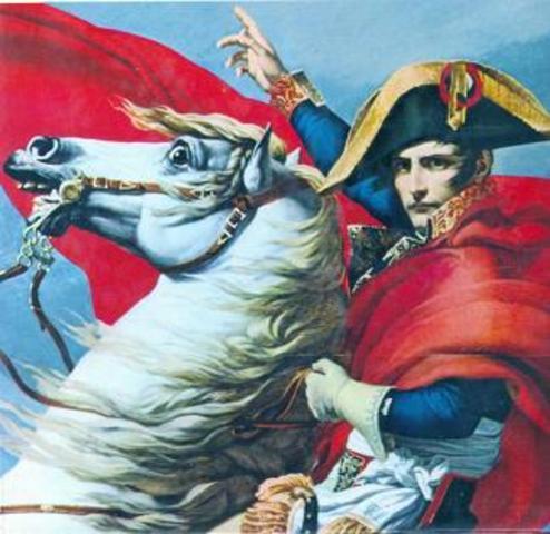 Napoleón entra en Madrid.