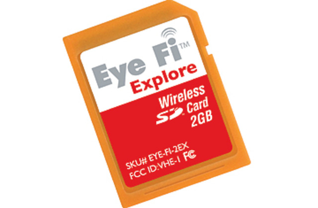 Eye-Fi Explore tarjeta SD