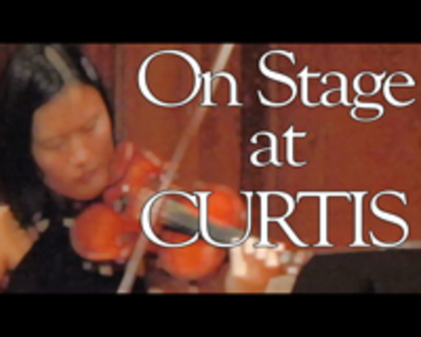 """New Season of """"On Stage at Curtis"""" Begins"""