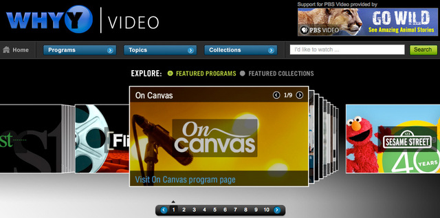 WHYY Launches Video Player