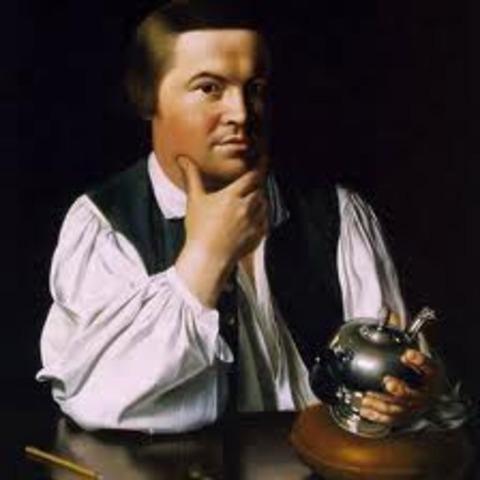 Paul Revere is born.