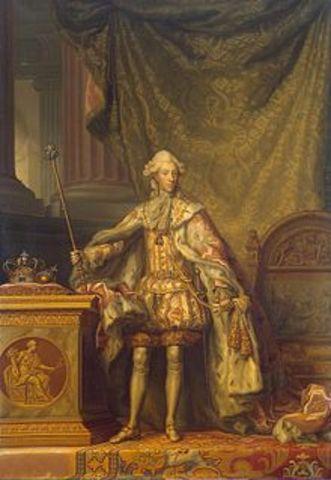 King Christian VII of Denmark is born