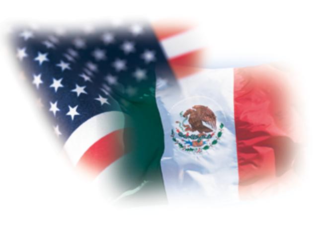 USA declares war on Mexico