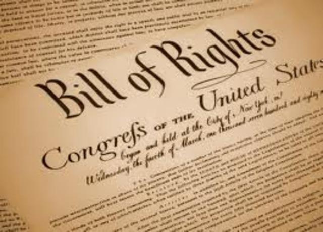 Bill of Rights :)