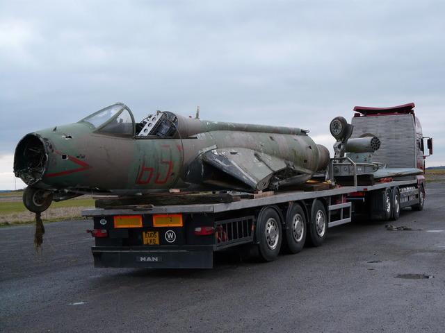 Hawker Hunter Returns to Wattisham Museum