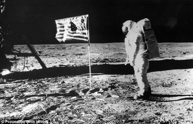 US Sends a man to the moon