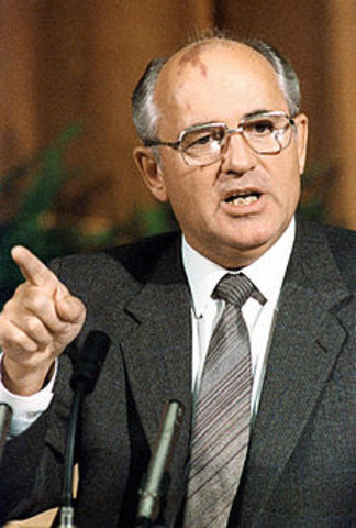 Gorbachev takes control of the USSR
