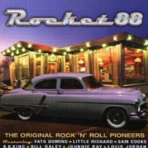 """R&B """"Rocket 88""""  Ike Turner and  Jackie Brenston"""