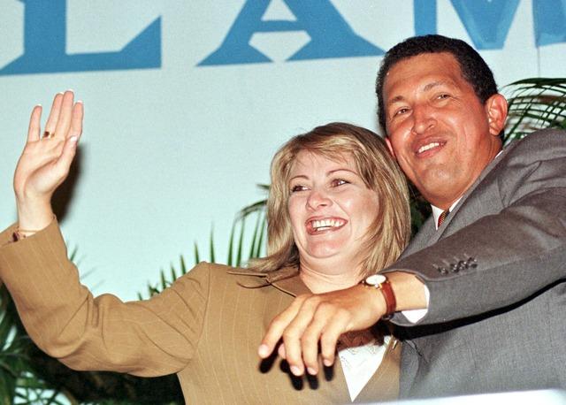 Chávez se casa con Marisabel Rodríguez