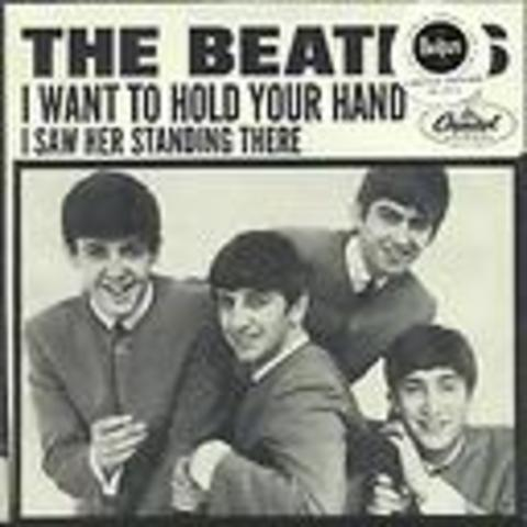 """Rock """"I Want To Hold Your Hand"""" by the Beatles"""