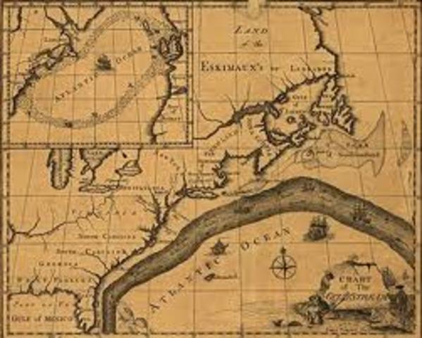 Benjamin Franklin Maps Gulf Stream