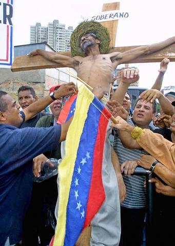 Paro nacional empresarial y sindical contra Chávez