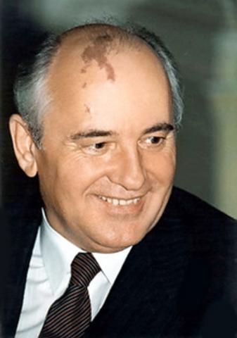 Mikhail Gorbachev becomes leader of the Soviet Union