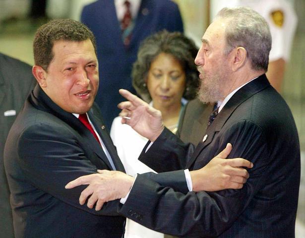 Fidel Castro afirma que Hugo Chávez es una de las personas que más admira