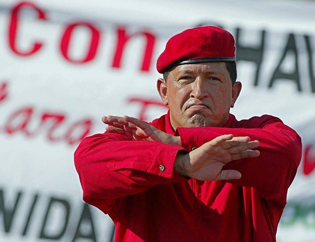 """Chávez ordena el cierre de la cadena Globovisión durante la emisión de su programa """"Aló Presidente"""""""
