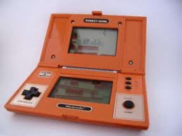Game and watch donkey kong