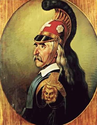 Ο Θεόδωρος Κολοκοτρώνης αποβιβάζεται στην Καρδαμύλη