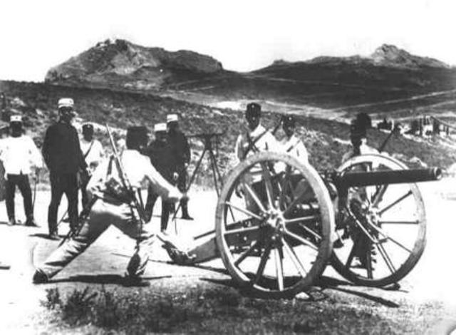 Ο κυβερνήτης Ιωάννης Καποδίστριας ιδρύει το πρώτο Τάγμα Πυροβολικού