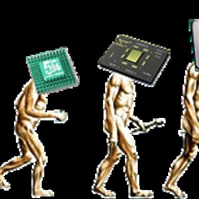 evolución del dispositivo básico de construcción de las computadoras (gabriela manrique)  timeline