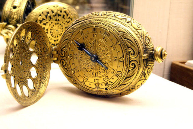 The pocket watch was invented