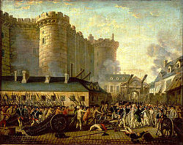 The capture of the Bastille