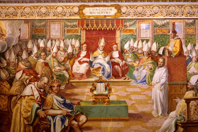 The first ecumenical council; Council of Nicaea