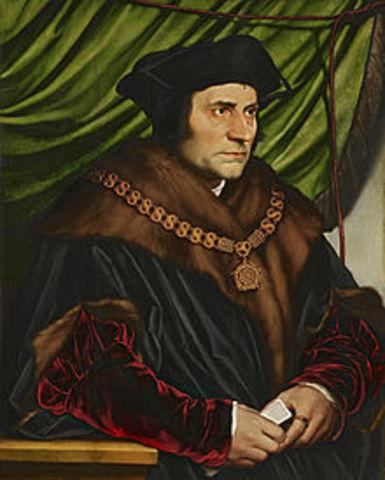 Sir Thomas More declared a saint