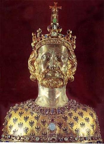 Charlemagne, Leader of the Franks