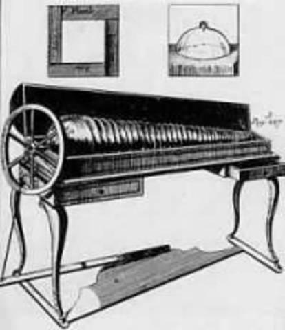 Benjamin Franklin Invents Armonica