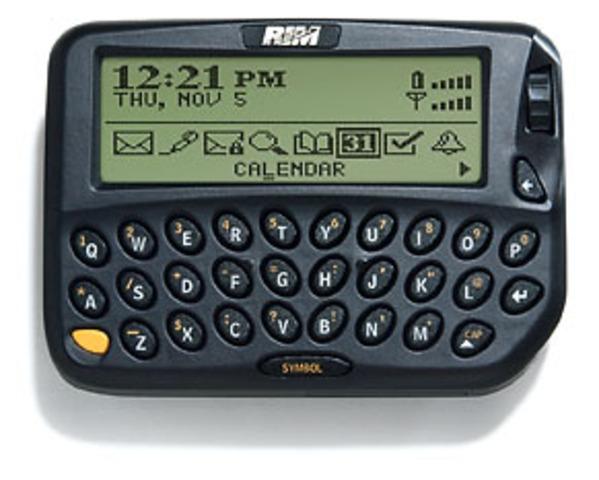 Primer BlackBerry