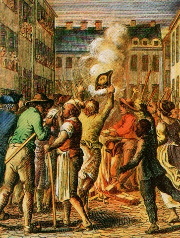 Britain Imposes the Stamp Act on the American Colonists