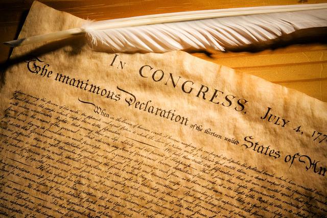 The Declaration of Independence Approved by Continental Congress