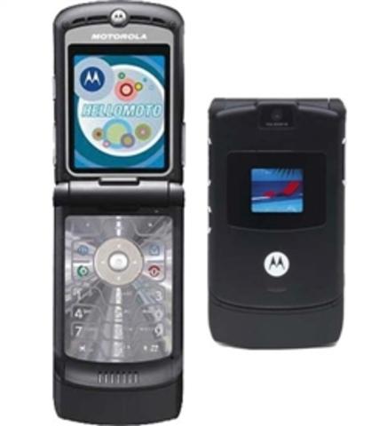Motorola volvió a innovar en el mercado con su terminal Razr V3