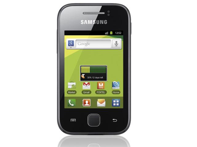 """Es lanzado al mercado el primer móvil SmartPhone de Samsung el """"Samsung Galaxy"""""""