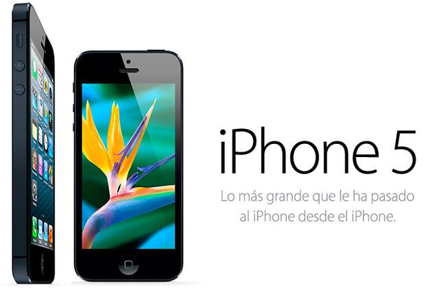 """Es presentado  el nuevo SmartPhone de Apple """"iPhone5"""""""