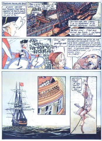 François Bourgeon - Les passagers du vent 1 / La fille sous la dunette