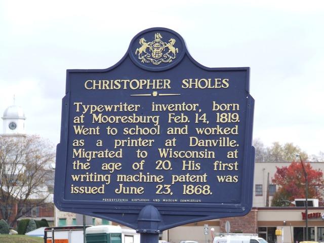 Christopher Sholes