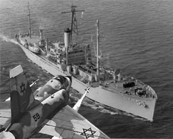 USS Liberty Sinking