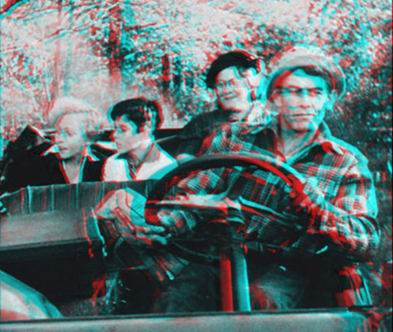 The First Anaglyphic Movie is Produced