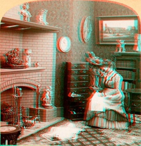 The First Anaglyphic Movie Shown in Theatres
