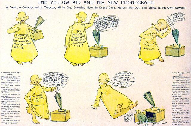 Richard Felton Outcault - At the circus in hogan's Alley ou Yellow Kid
